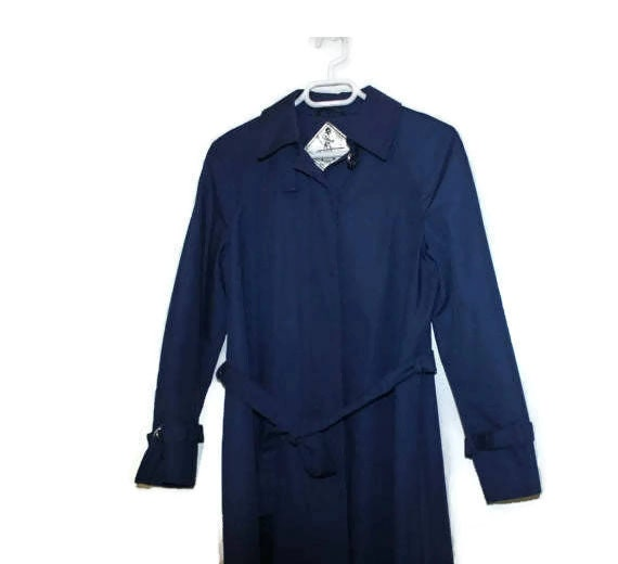 Made in Denmark Classic Trench Navy Blue Trench Co