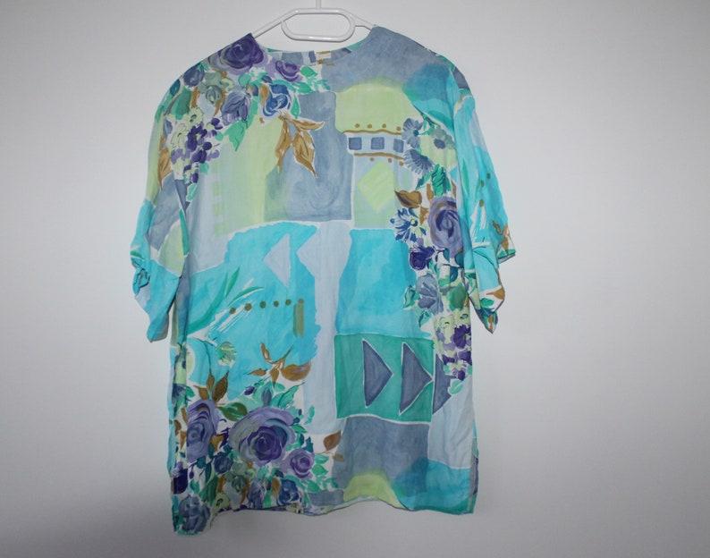 d571925d5 80s Hawaiian Shirt 90s Hawaii Button Up Top Large Tropical | Etsy