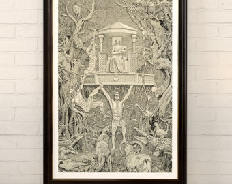 Birth Of Humanity, limited edition giclee print