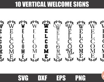 Welcome Sign Svg Etsy