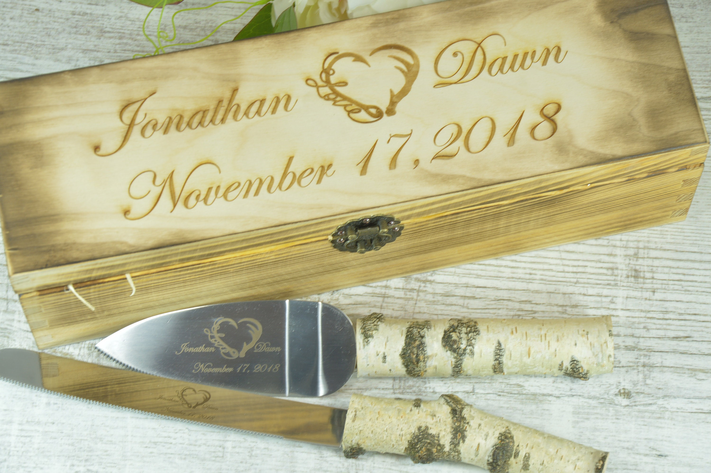 Cake knife set Wedding knife set Cake serving set Wedding cake | Etsy