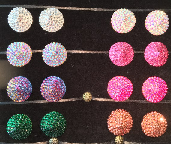 The Classic - Single Colour Burlesque Pasties