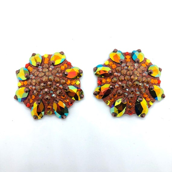 Swarovski Sunset Rhinestone Burlesque Pasties