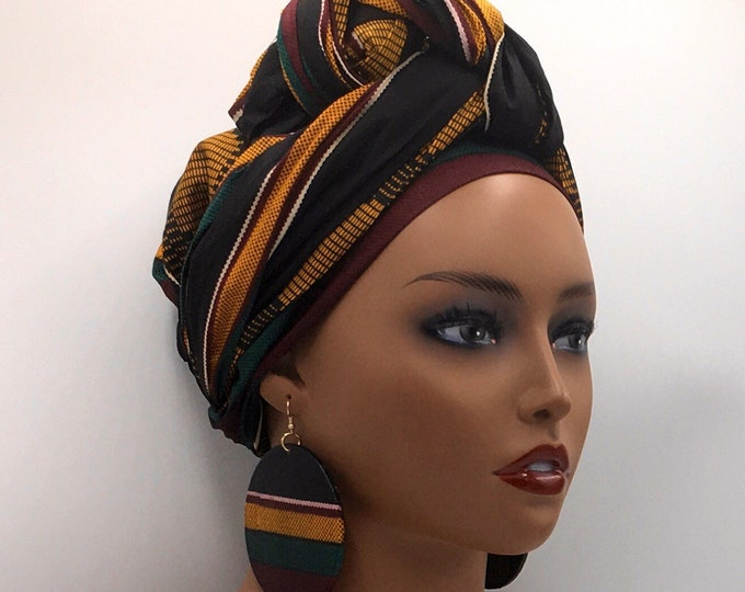 Featured listing image: Kente Head Wrap
