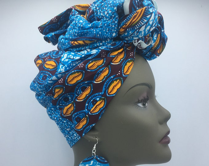 Featured listing image: Blue Head Wrap