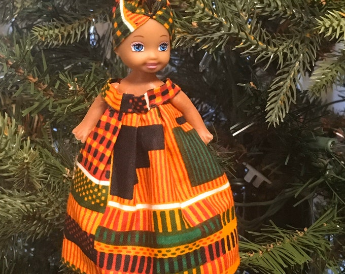 Featured listing image: African Christmas Doll Ornaments