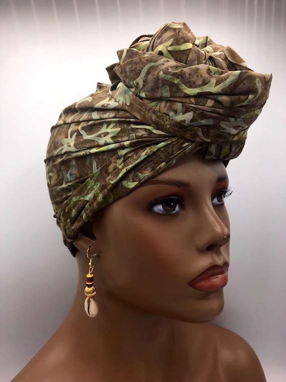 Green Head Wrap