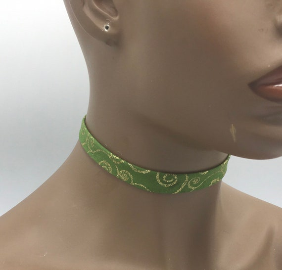 Fabric Choker, African Ribbon Necklace, Fabric Ribbon Necklace, Fabric Necklace, Ankara Necklace, Ribbon Necklace