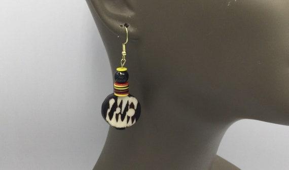 Ethnic Earrings - Boho Earrings - African Earrings - African Earrings