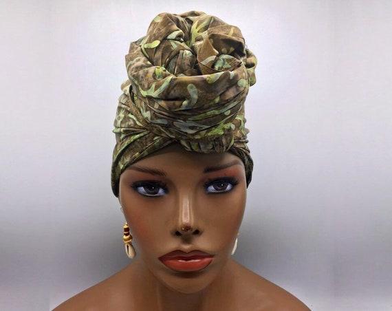 Green Head Wrap