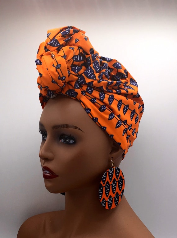 Orange Head Wrap