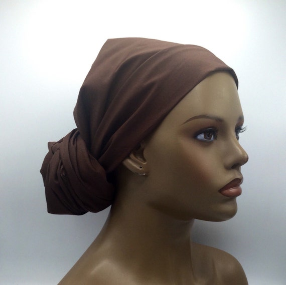 Brown Head Wrap
