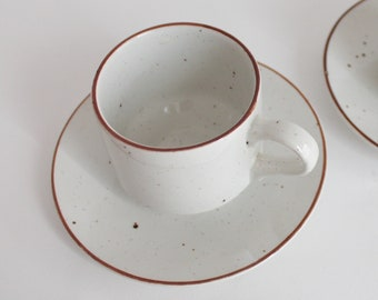 two cups by Stonedale Tableware by Sampson Bridgwood