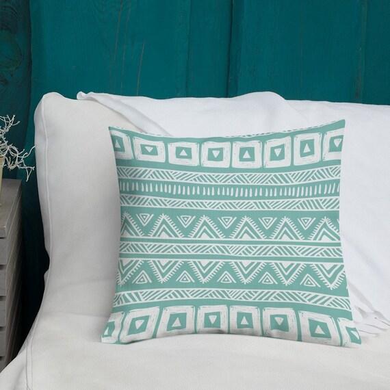 Tribal Design Premium Pillow Case W Stuffing
