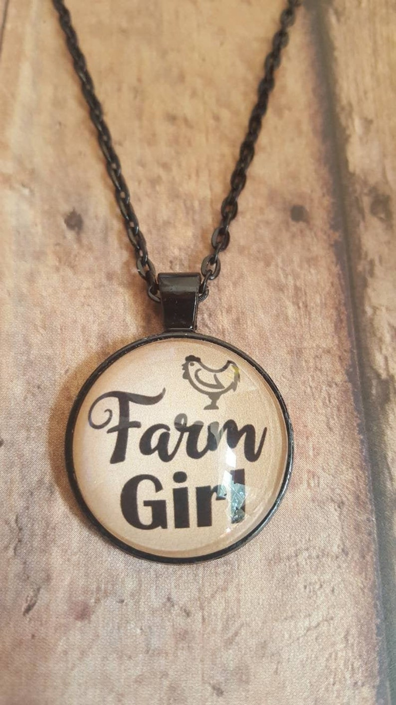 Farm Girl Necklace/Farmer's image 0