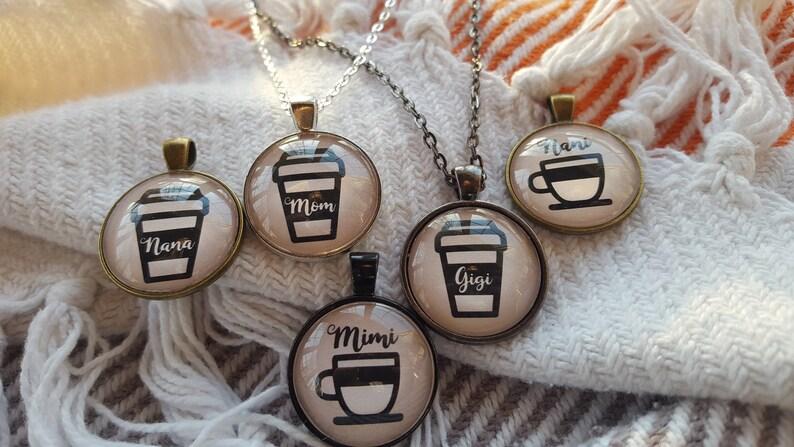 Gigi Necklace/Mom Necklace/Nana Necklace/Mimi Necklace/Nani image 0