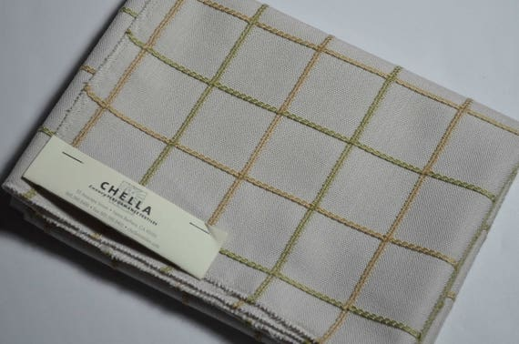 Chella Home Decor Fabric Designer Fabric Sample Remnant Etsy Simple Home Decor Designer Fabric