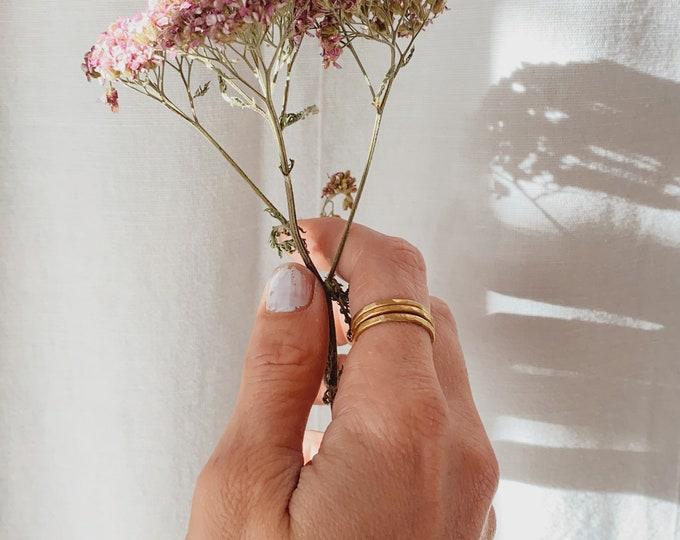 Stacking rings / Set of Three Stacking Rings