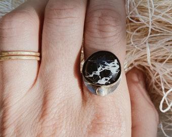 CHOOSE YOUR STONE | White Buffalo Turquoise Ring