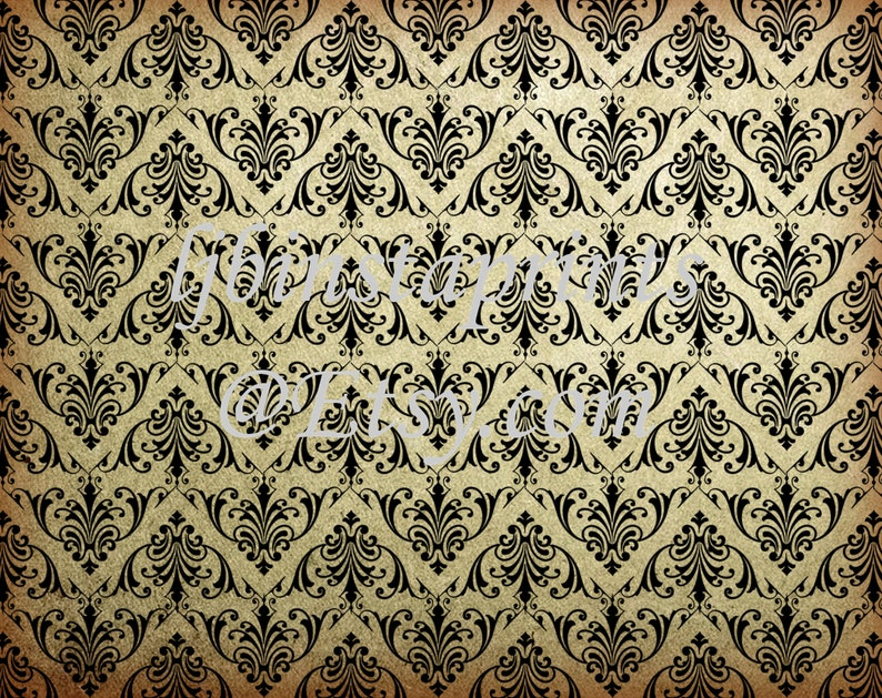 Victorian Print Paper Journal Paper Junk Journal Background Papers Instant Download Junk Journal Supply