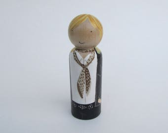 Tom Petty Peg doll, Tom Petty Commemoration, Tom Petty collectible