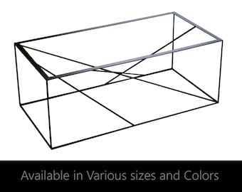 Incroyable Coffee Table Base, Cabinet Base, Bench Base, Metal Table Base, Steel,  Industrial, Modern