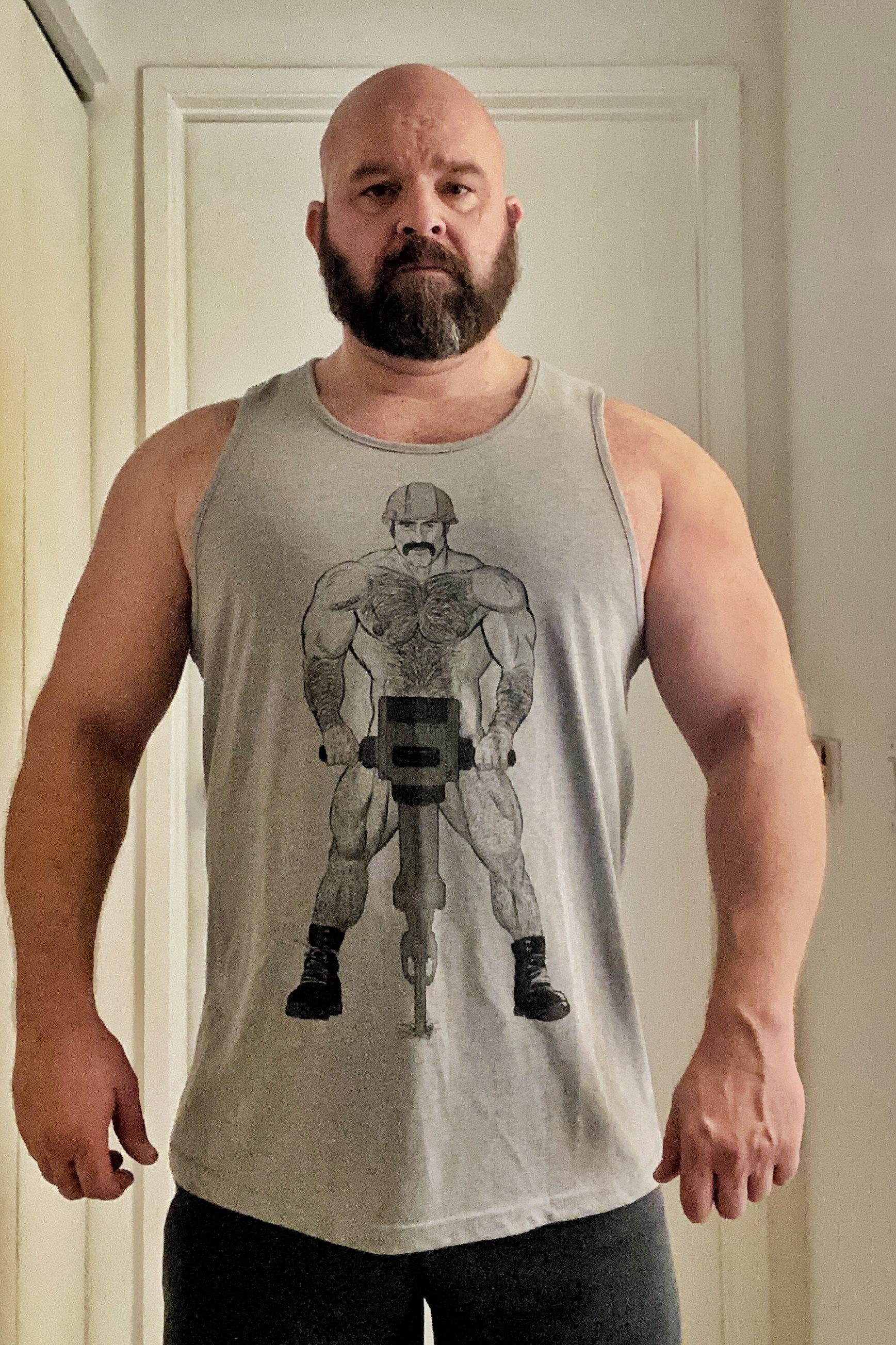 Gay big muscle Max