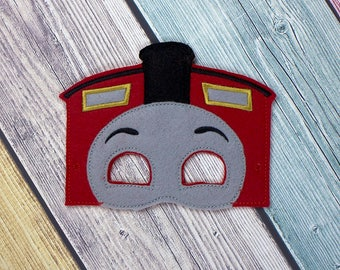 Red Train Mask
