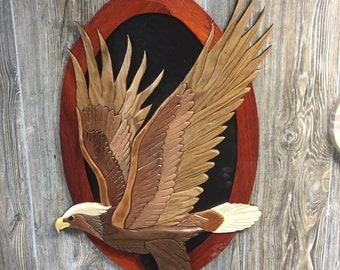 Eagle Circle Intarsia
