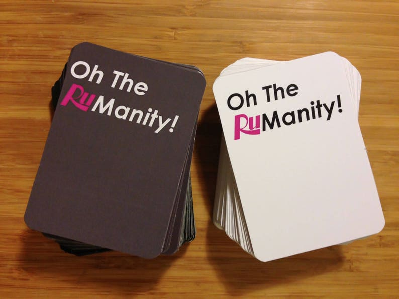 Oh The Rumanity Game  Rupaul's Drag Race Printable image 0