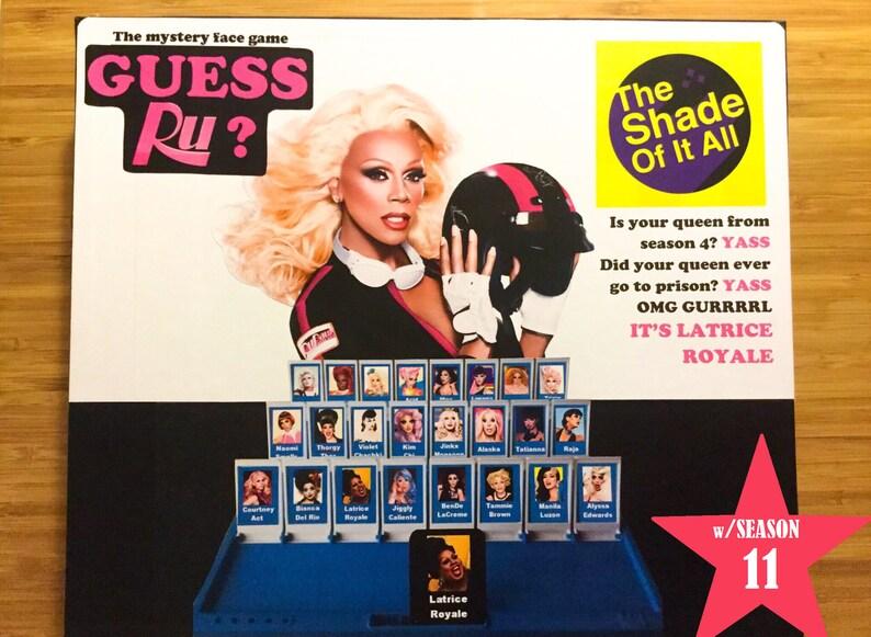 Guess Ru Game  Rupaul's Drag Race Guess Who Printable image 0