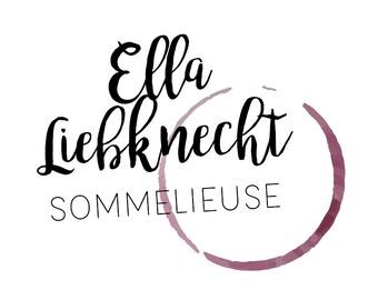 Logo - exklusiv personalisiert! Keine Mehrfachverwendung! [Food, Wein, Eating, Genuss, Experte, Sommelieuse, Spirituosen, Blogger]