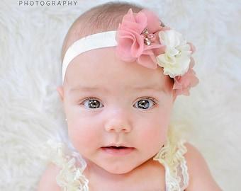 Baby Headbands - Baby Headband -  Flower Headband - Baby Hairbow - Infant Headband - Toddler Headband - headband baby - Baby bows