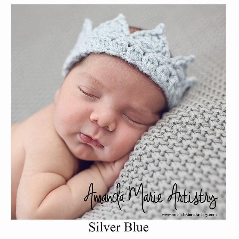 Baby Hat, Crochet Baby Hat, Baby Boy Hat Crown, Baby Girl Hat Crown -  Newborn Hat Crown, Infant Hat Crown - Crochet crown