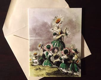 Marguerite (Daisy): Greeting Card