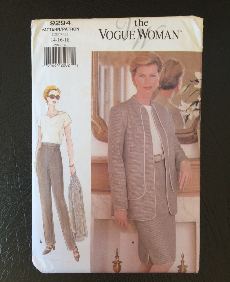 Skirt and Pants 8 Butterick 6339 Misses/'//Miss Petite Jacket 12 10