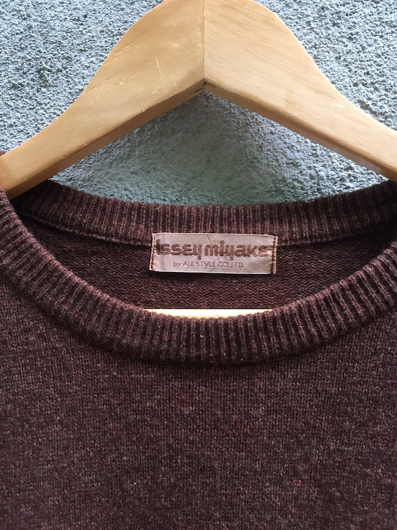 Issey Miyake Knitwear Rare Item by Etsy