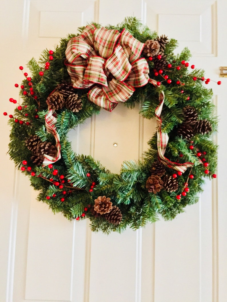 Old Fashioned Christmas Pictures.Old Fashioned Christmas Wreath