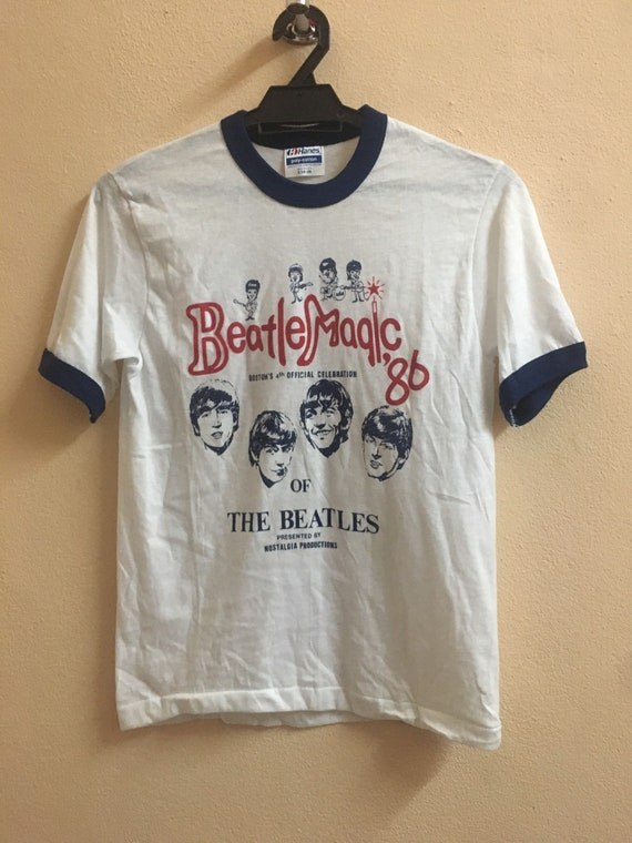 VINTAGE THE BEATLES 1986 magic 86 stone roses oasi