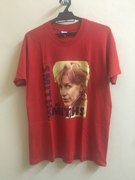 VINTAGE THE SMITHS band tee the stone roses mbv oa
