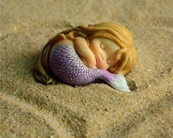 Mermaid Princess Statue Fairy-in Underwear Figurine