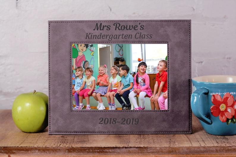 Class Photo Frame Professor Gift Teacher Teacher Thank You Teacher Gifts Class of Teacher Appreciation Class Photo Gift for Teachers