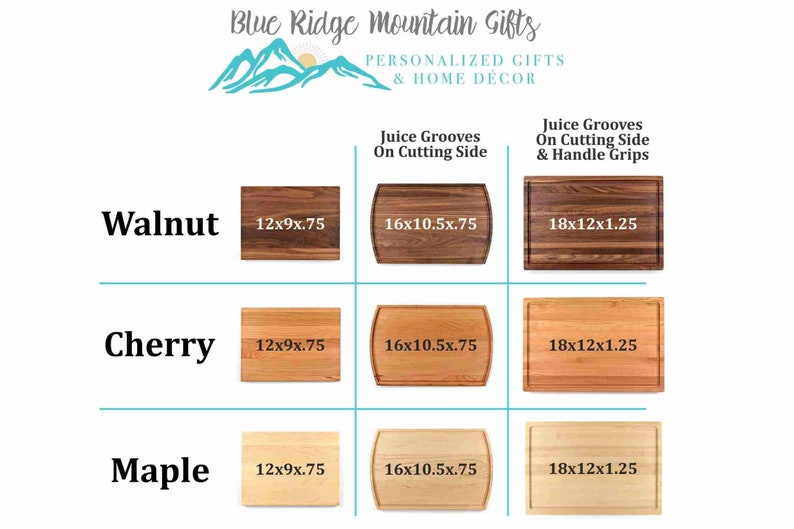 Personalized Kitchen Custom Engraved Cutting Board Husband Gift Wood Decor Fiance Gift Wife Parents Dad Mom Cooking Gift