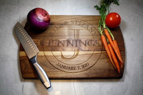 Personalized Cutting Board Great For A Wedding Gift New Etsy