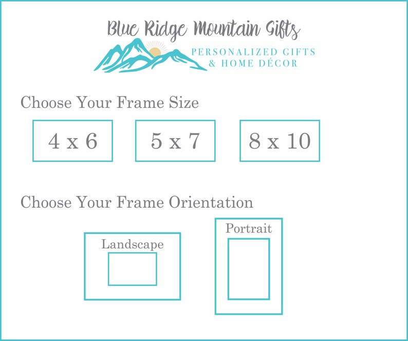 Graduation Gift 8x10 Photo Frame Student Gift Graduation Frame 5x7 Picture Frame College Grad High School Grad Custom Picture Frame