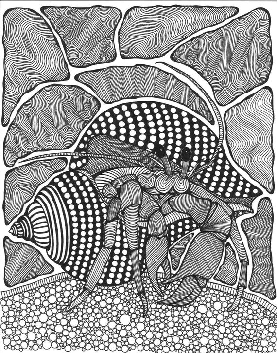 Free Printable Beach Coloring Pages - The Artisan Life | 725x570