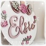 Unique Personalised Unicorn Wall/Door Plaque/ Birthday Gift/ Personalised gift/ Wooden nursery decor/ wooden sign/ Girls bedroom decor/girls