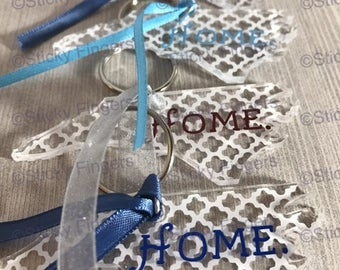 Personalized Home Keychain (NC)