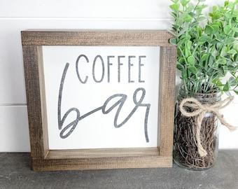 Mini wood signs