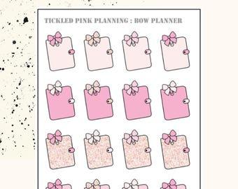 BOW PLANNER | Planner Stickers | Premium Matte Paper